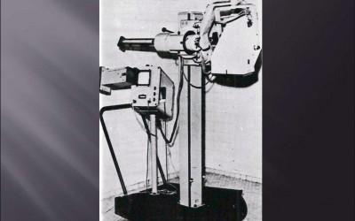 Primeros equipos comercializados. Ecografia modo A y B. (años 70)